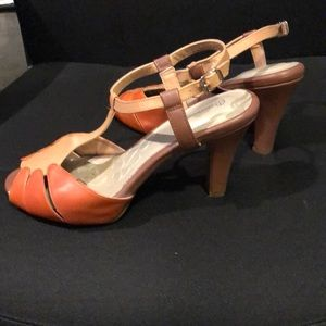 Sale! Gianni Bernini leather dress sandals